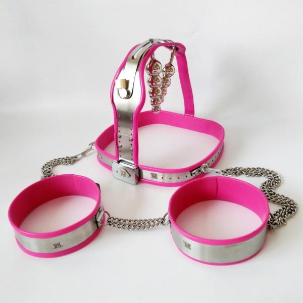 BDSM (БДСМ) - <? print Розовый пояс верности для женщин; ?>