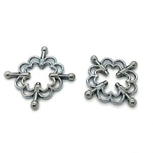 Metallic irritants - nipple clamps