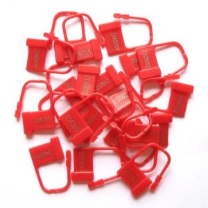 Plastic clasps 100 PCs.