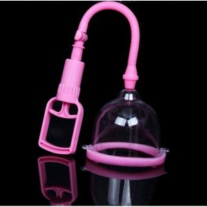 Pump for breast enlargement