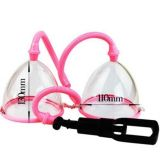 Vacuum pump for breast pink