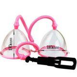 Вакуумная помпа для груди розовая по оптовой цене