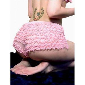 Светло-розовые трусики-шортик