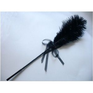 Tickler black with bow