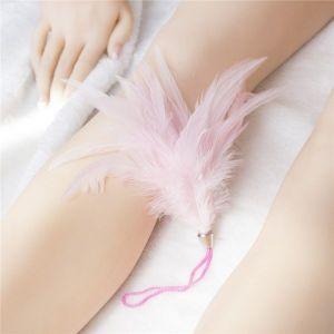 Тиклер розовый на шнурке
