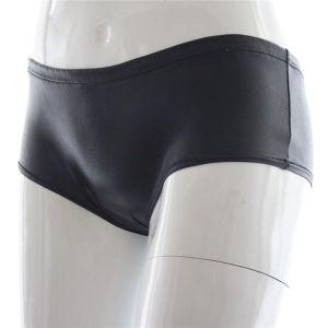 Black vinyl panties. Артикул: IXI49199