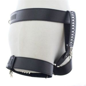 Female chastity belt with removable lid