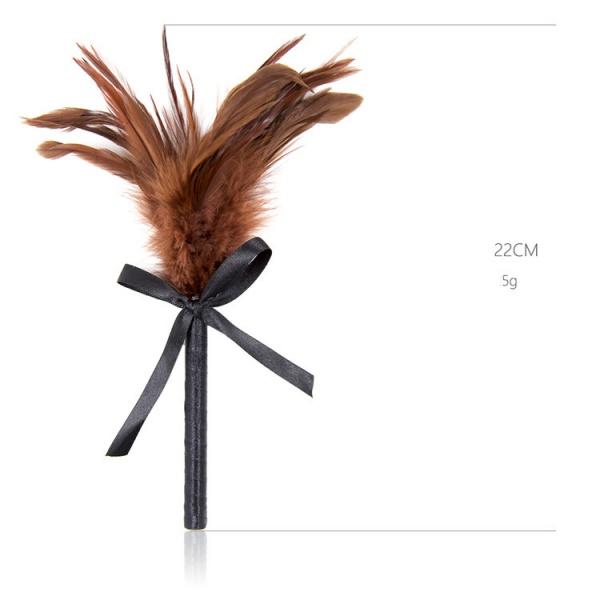 Fluffy Tickler brown. Артикул: IXI49215