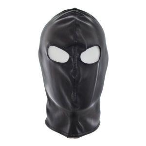 Черная виниловая маска с вырезами для глаз