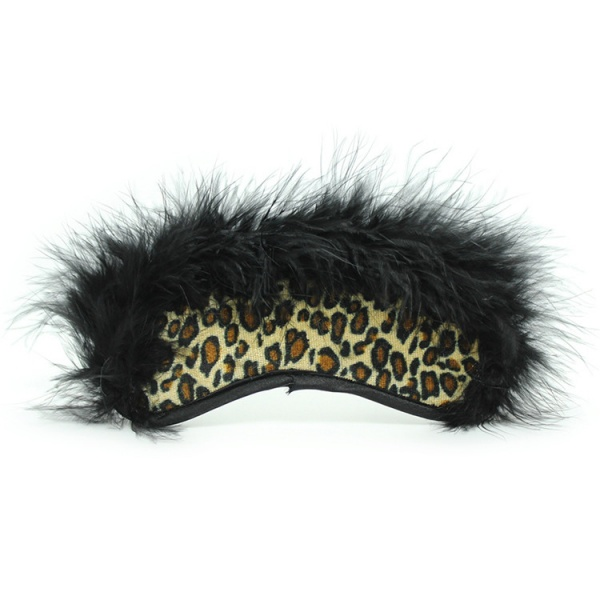 BDSM (БДСМ) - <? print Леопардовая маска с пушком; ?>