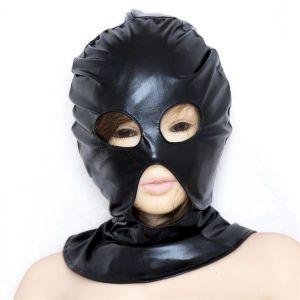 Черная виниловая маска