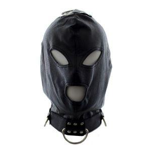 Маска-шлем со шнуровкой и кольцом для подвешивания