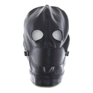 BDSM mask black