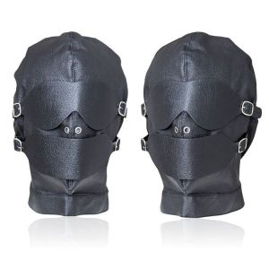 Black leather mask allabdsm games