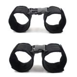 Черные наручники 2 пары по оптовой цене