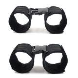 Black handcuffs 2 pairs