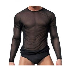 Mens translucent t-shirt