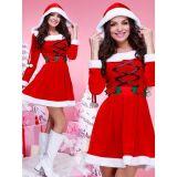 Red Santa Costume Women