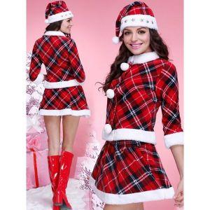 Fashion Grid Christmas Costume