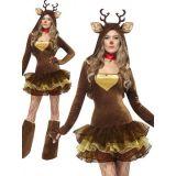 Fashion Brown Christmas Costume
