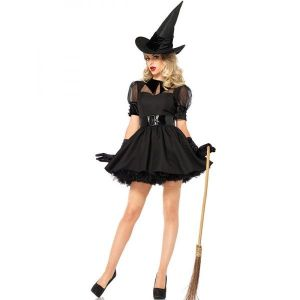 Adult halloween Witch Costume