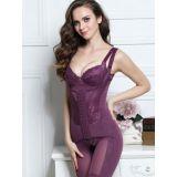 Sexy Purple Underbust Women Shapewear