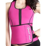 Hot Power Slim Belt Rose Women Latex Corset