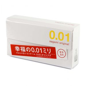 Ultra-thin condoms, Sagami Original 0.01 mm 5 PCs