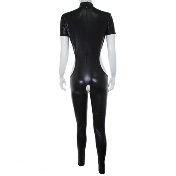 Black latex suit. Артикул: IXI50045