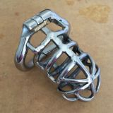 BDSM (БДСМ) - Stainless Steel Male Chastity Device / Stainless Steel Chastity Cage