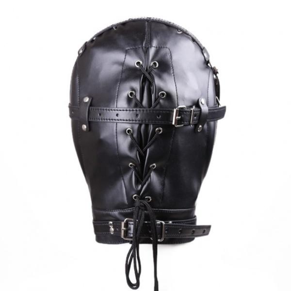 BDSM (БДСМ) - <? print Закрытая бандажная маска; ?>