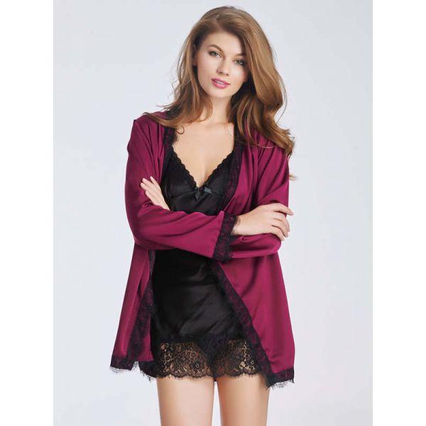 Purple Woman Outwear