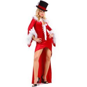 drag back mistress long dress