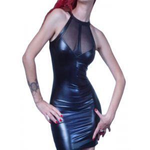 Sexy Wet Look Club Dress