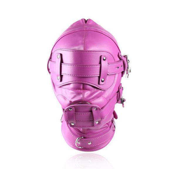 Closed pink mask. Артикул: IXI51245