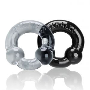Transparent silicone cockrings OXBALLS
