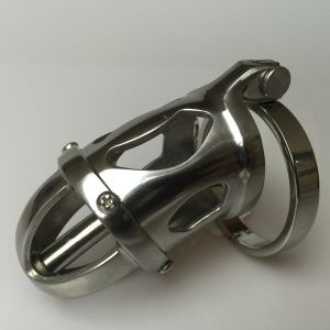 Stainless Steel Detachable Chastity Device Cock Cage