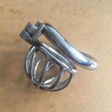 Ultra small 304 stainless steel Cock Cage male chastity device
