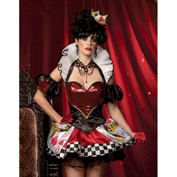Deluxe Card Queen Costume