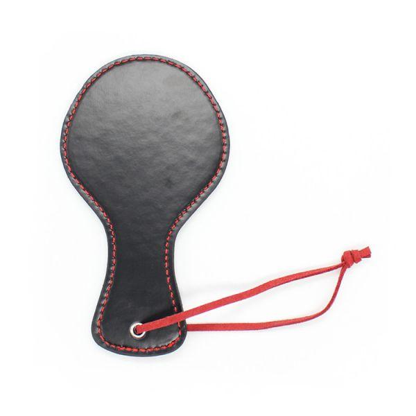 BDSM (БДСМ) - Круглая шлепалка на красном шнурке