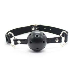 Classic ball gag with plastic ball