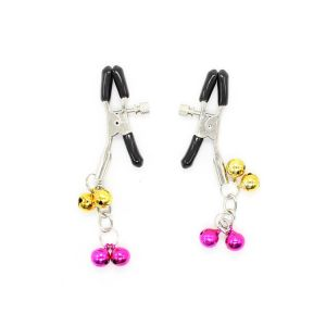 Nipple clamps with bright bells