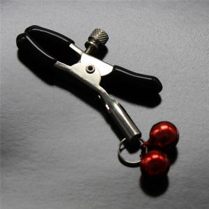 Nipple clamps with red bells