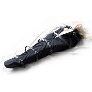 Бандаж смирительный с кожаными ремнями