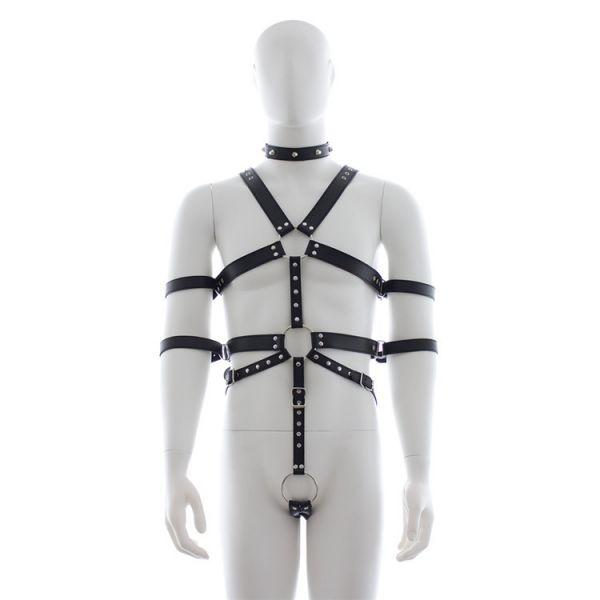 BDSM (БДСМ) - Мужская сбруя из кожи