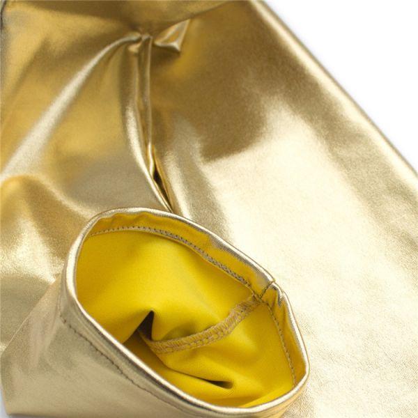 Golden vinyl gloves. Артикул: IXI52075