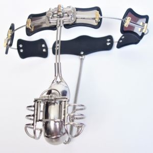Male new chastity belt and accessories Ball Cage Design and craftsmanship