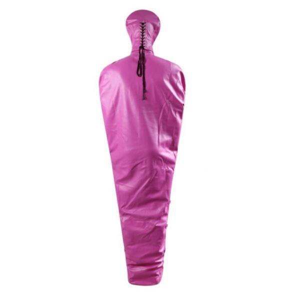 BDSM (БДСМ) - <? print Кожаный бандаж Мумификация  розовый; ?>