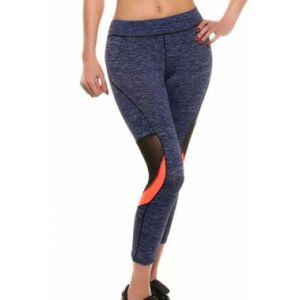 Sports cropped leggings fishnet