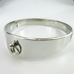 Stainless steel arc collar